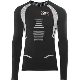 X-Bionic The Trick Running Shirt LS Men Black/White